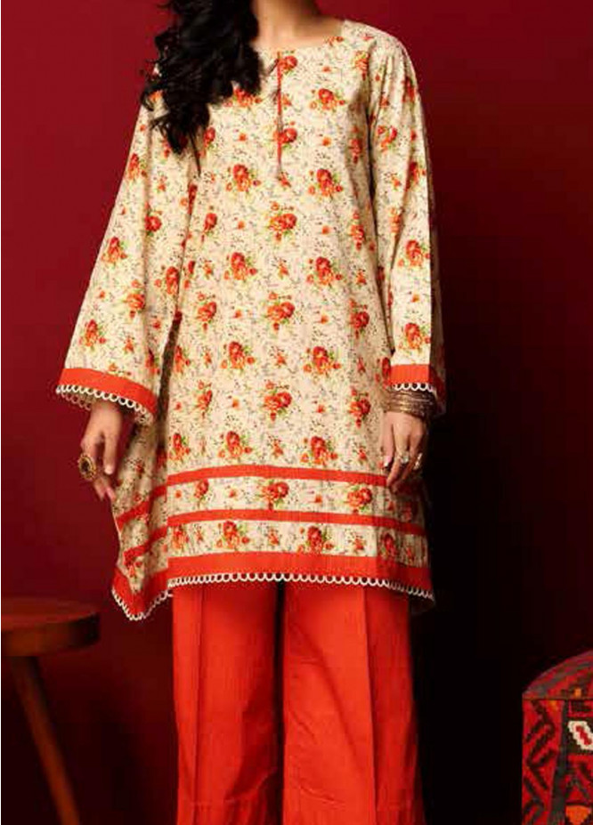 Heena By Ittehad Textiles Printed Cotton Suits Unstitched 2 Piece ITD21HC 008C - Fall Collection