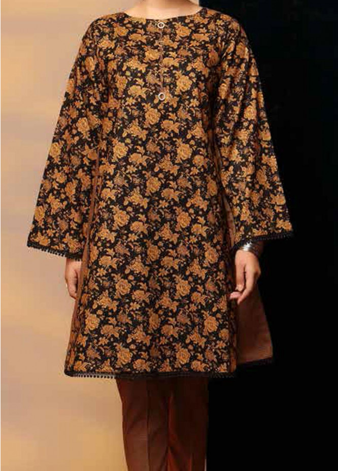 Heena By Ittehad Textiles Printed Cotton Suits Unstitched 2 Piece ITD21HC 009B - Fall Collection
