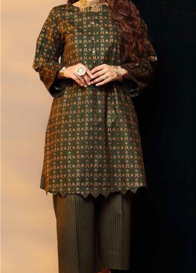 Heena By Ittehad Textiles Printed Cotton Suits Unstitched 2 Piece ITD21HC 011B - Fall Collection
