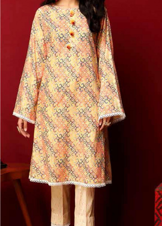 Heena By Ittehad Textiles Printed Cotton Suits Unstitched 2 Piece ITD21HC 012A - Fall Collection