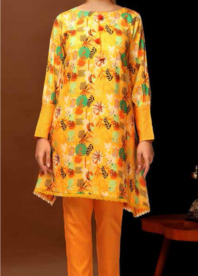 Heena By Ittehad Textiles Printed Cotton Suits Unstitched 2 Piece ITD21HC 014A - Fall Collection