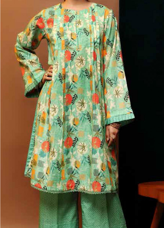 Heena By Ittehad Textiles Printed Cotton Suits Unstitched 2 Piece ITD21HC 014C - Fall Collection