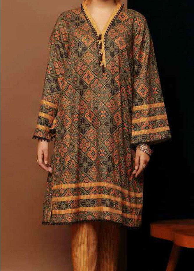 Heena By Ittehad Textiles Printed Cotton Suits Unstitched 2 Piece ITD21HC 015C - Fall Collection