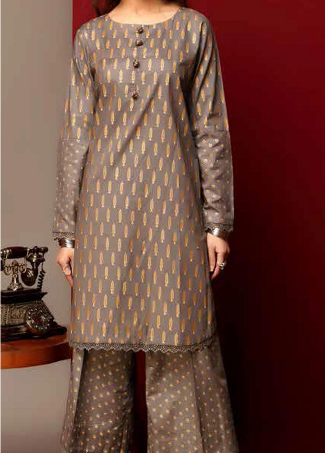Heena By Ittehad Textiles Printed Cotton Suits Unstitched 2 Piece ITD21HC 016B - Fall Collection