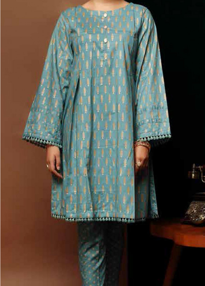 Heena By Ittehad Textiles Printed Cotton Suits Unstitched 2 Piece ITD21HC 016C - Fall Collection
