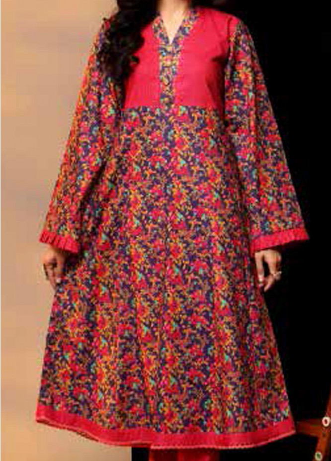 Heena By Ittehad Textiles Printed Cotton Suits Unstitched 2 Piece ITD21HC 018A - Fall Collection