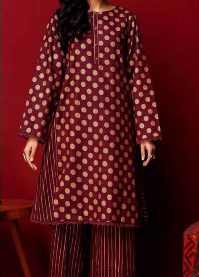 Heena By Ittehad Textiles Printed Cotton Suits Unstitched 2 Piece ITD21HC 019C - Fall Collection