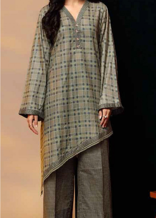 Heena By Ittehad Textiles Printed Cotton Suits Unstitched 2 Piece ITD21HC 021C - Fall Collection