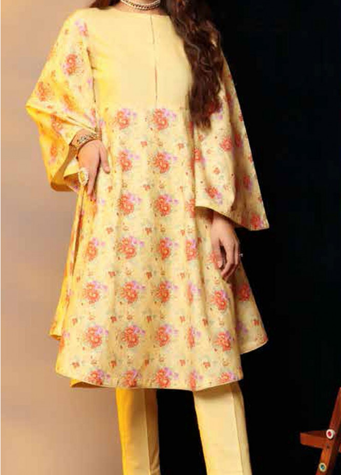 Heena By Ittehad Textiles Printed Cotton Suits Unstitched 2 Piece ITD21HC 022A - Fall Collection