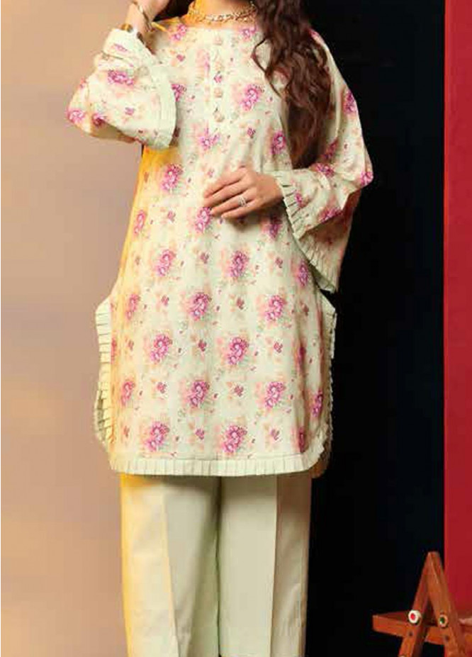 Heena By Ittehad Textiles Printed Cotton Suits Unstitched 2 Piece ITD21HC 022B - Fall Collection