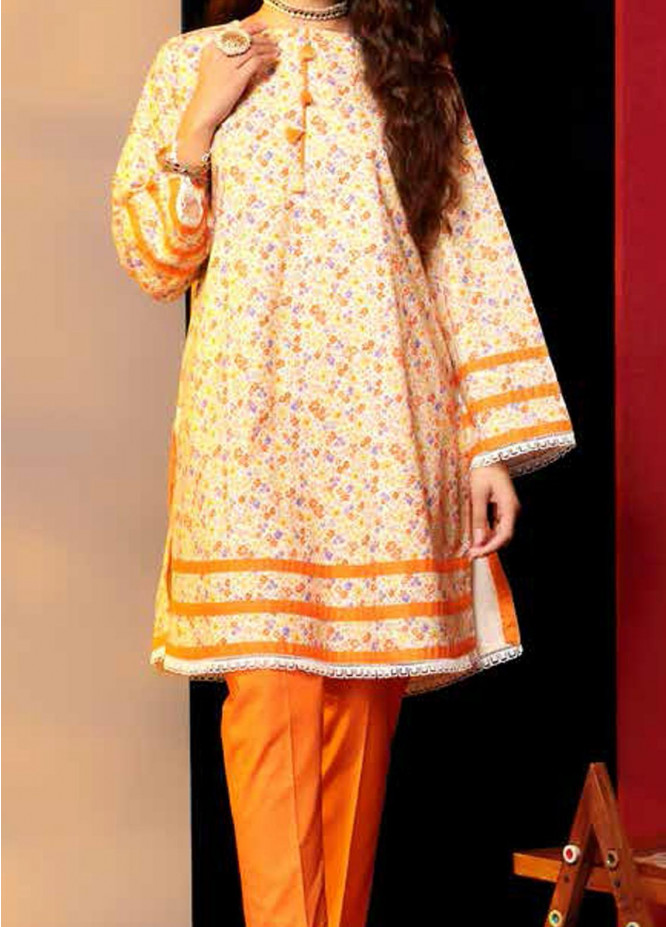 Heena By Ittehad Textiles Printed Cotton Suits Unstitched 2 Piece ITD21HC 024B - Fall Collection