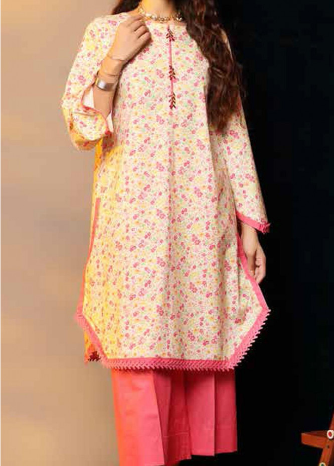 Heena By Ittehad Textiles Printed Cotton Suits Unstitched 2 Piece ITD21HC 024C - Fall Collection