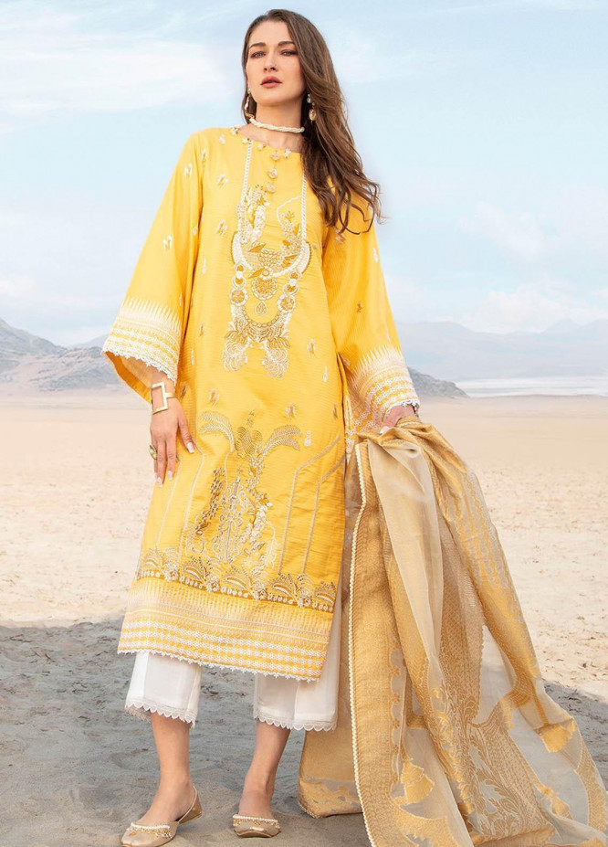 Ittehad Textiles Embroidered Lawn Suits Unstitched 3 Piece IT21PS PRE-TREACLY - Premium Summer Collection