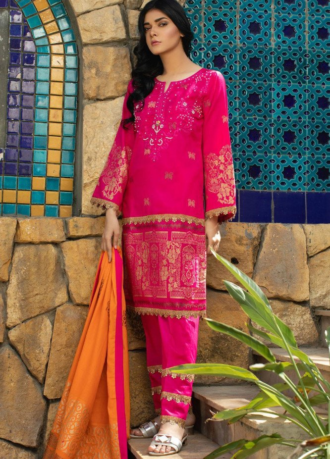 Jahan by AB Textiles Embroidered Lawn Suits Unstitched 3 Piece AB21TT 03 - Summer Collection