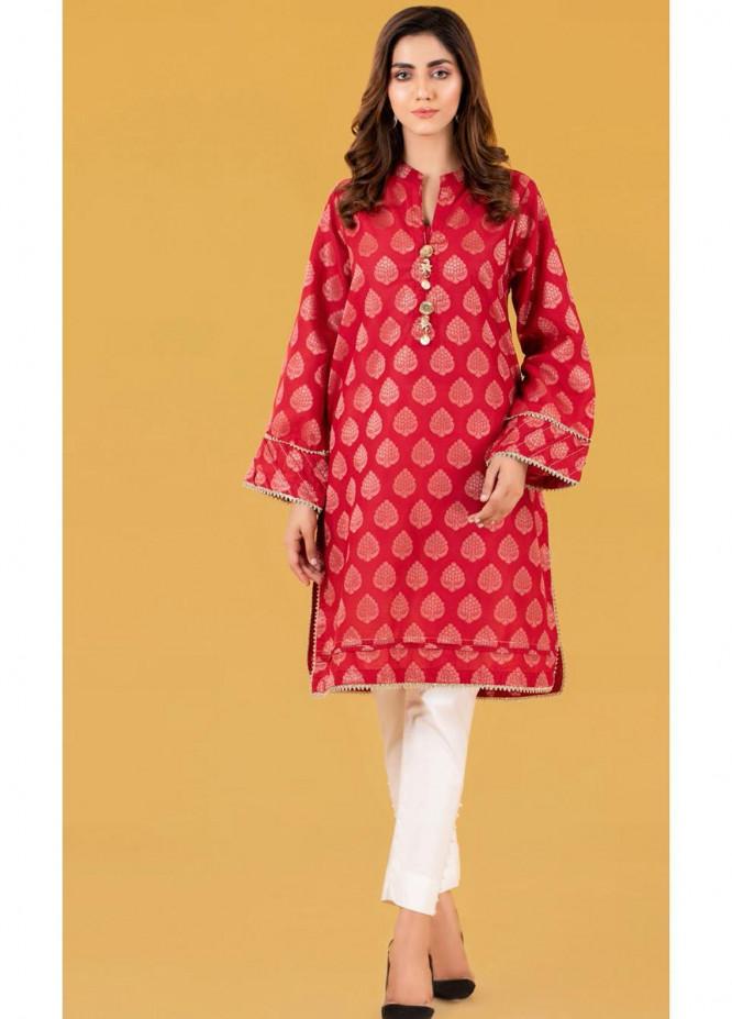 Gul Ahmed Luxury Pret Printed Jacquard Kurties GA21K WGK-JQS-DY-567