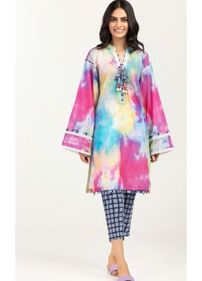 Gul Ahmed Luxury Pret Printed Lawn 2 Piece Suit GA21K WGK-LWS-DP-468