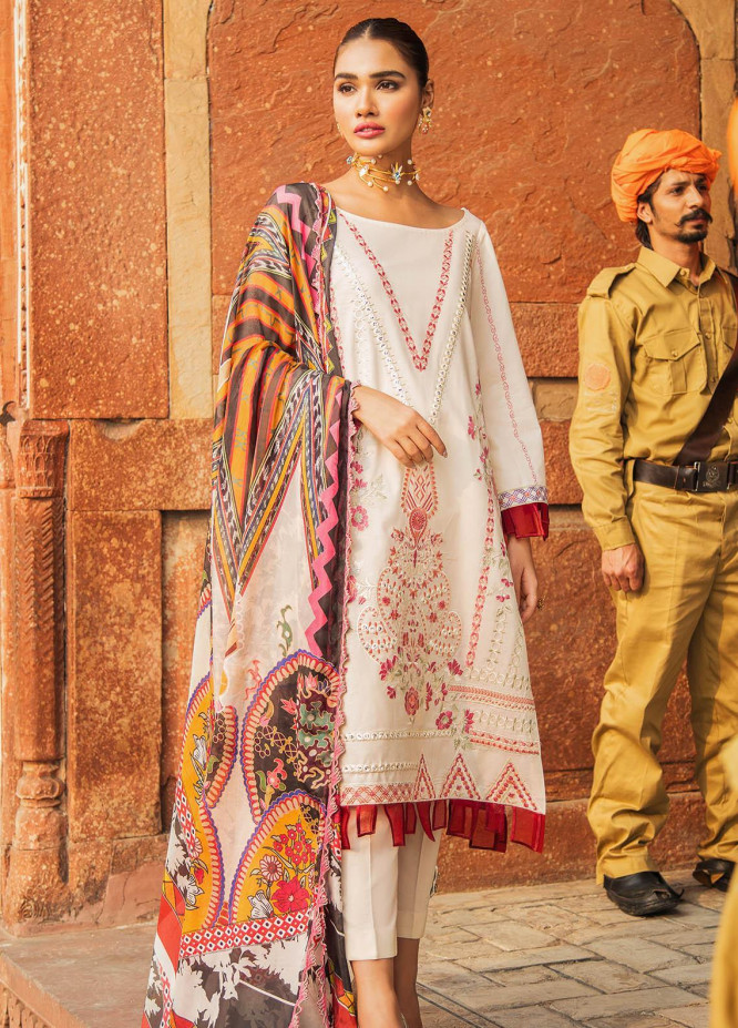 Kaasni by Panache Embroidered Lawn Unstitched 3 Piece Suit PN20K9 - Spring / Summer Collection