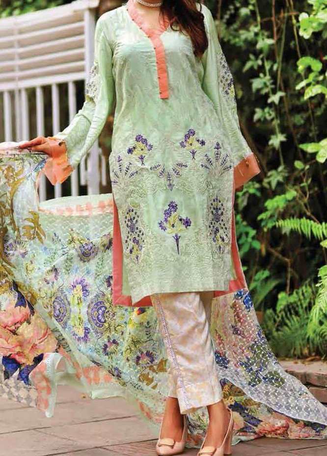 Khaka by Puri Fabrics Embroidered Viscose Unstitched 3 Piece Suit KH20C 08 - Winter Collection