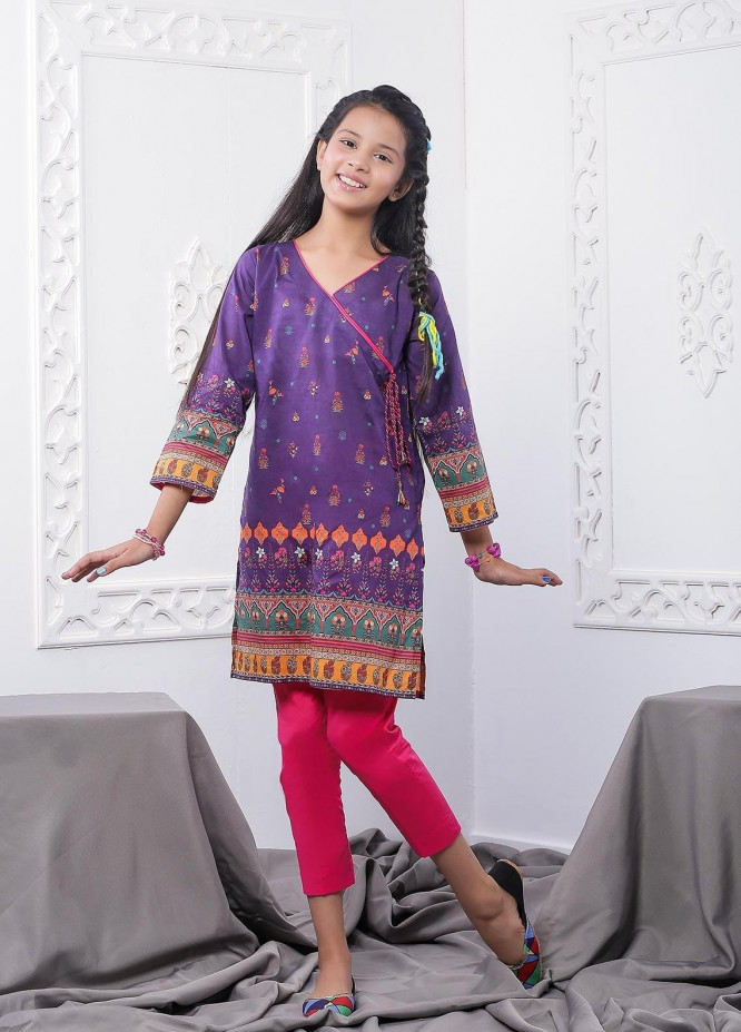 Waniya Lawn Printed 2 Piece Suit for Girls -  WKA20-07
