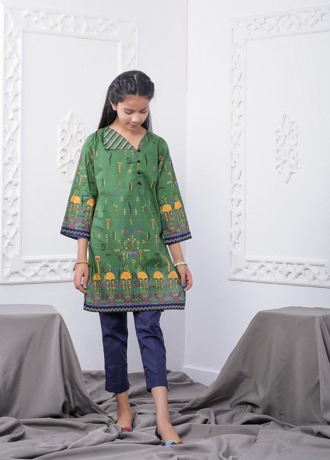 Waniya Lawn Printed 2 Piece Suit for Girls -  WKA20-09