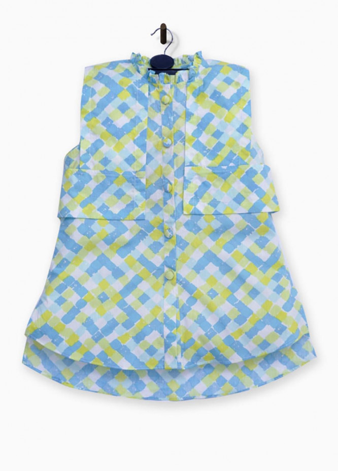 Kids Polo Cotton Casual Top for Girls -  GWSK-20209