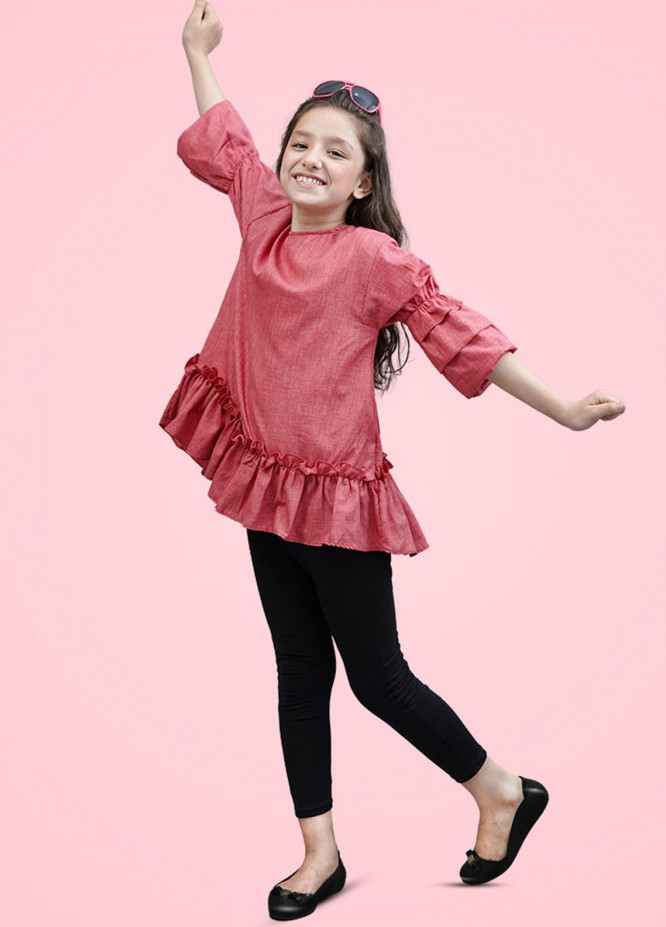 Kids Polo Cotton Casual Girls Top -  GWSK-20212