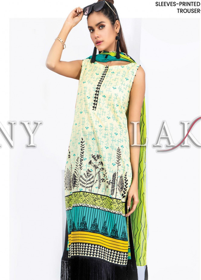 Komal by Lakhany Printed Lawn Unstitched 3 Piece Suit LSM20P KP-2032 - Spring / Summer Collection