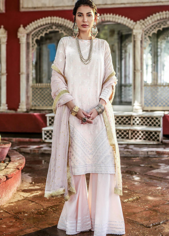 Lakhany Embroidered Chikankari Suits Unstitched 3 Piece LSM21CK 9015 - Summer Collection