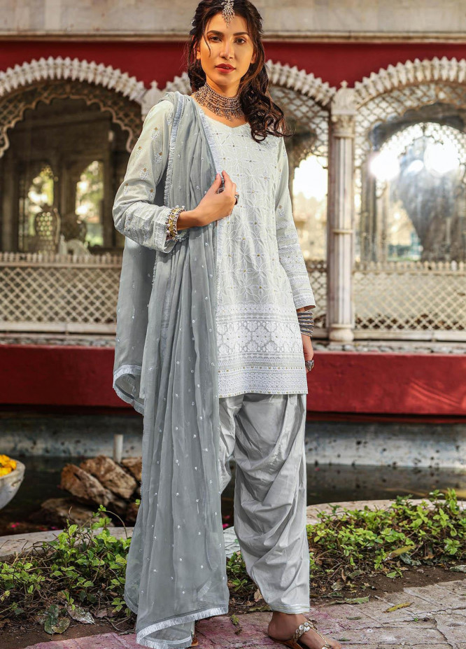 Lakhany Embroidered Chikankari Suits Unstitched 3 Piece LSM21CK 9016 - Summer Collection