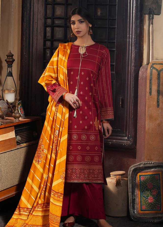 Dareechay By Lakhany Printed Lawn Suits Unstitched 3 Piece LSM21D 3007 - Summer Collection
