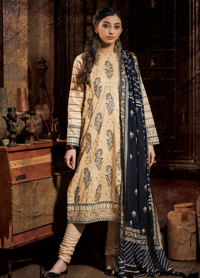 Dareechay By Lakhany Printed Lawn Suits Unstitched 3 Piece LSM21D 3011 - Summer Collection