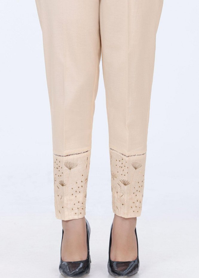 Lakhany Embroidered Cambric Pret Trousers LSM-2178 (BG)