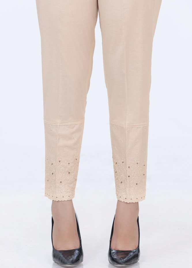 Lakhany Embroidered Cambric Pret Trousers LSM-2179 (BG)