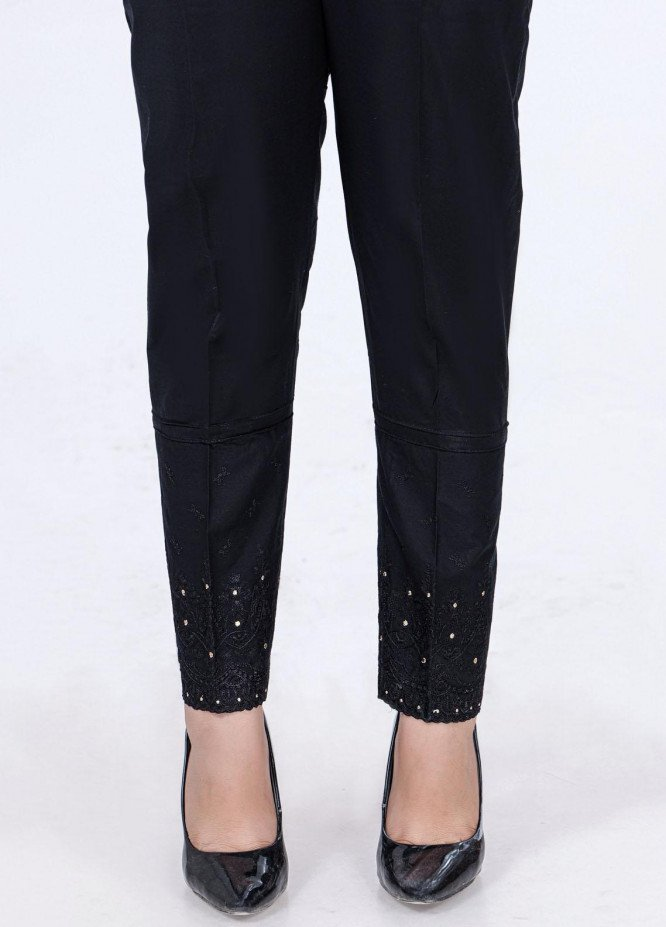 Lakhany Embroidered Cambric Pret Trousers LSM-2179 (BL)