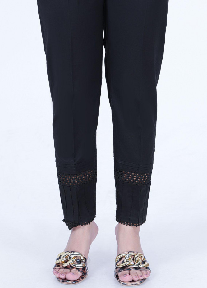Lakhany Embroidered Cambric Pret Trousers LSM-2181 (BL)