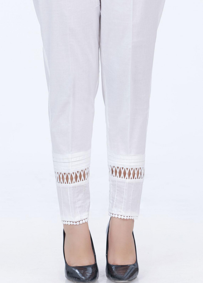Lakhany Embroidered Cambric Pret Trousers LSM-2181 (W)