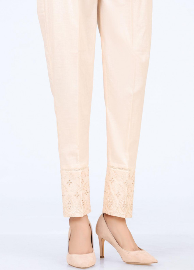 Lakhany Embroidered Cambric Pret Trousers LSM-T-2333(BG)