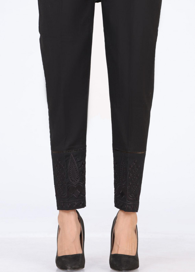 Lakhany Embroidered Cambric Pret Trousers LSM-T-2350(B)