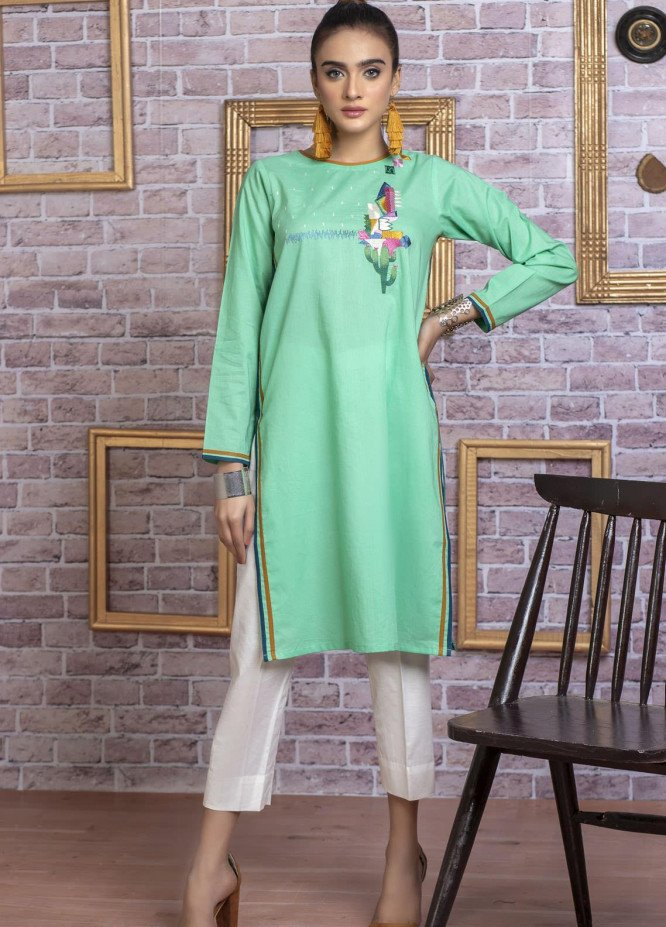 Lakhany Embroidered Cambric Stitched Kurtis LSM20EK LSM-1711