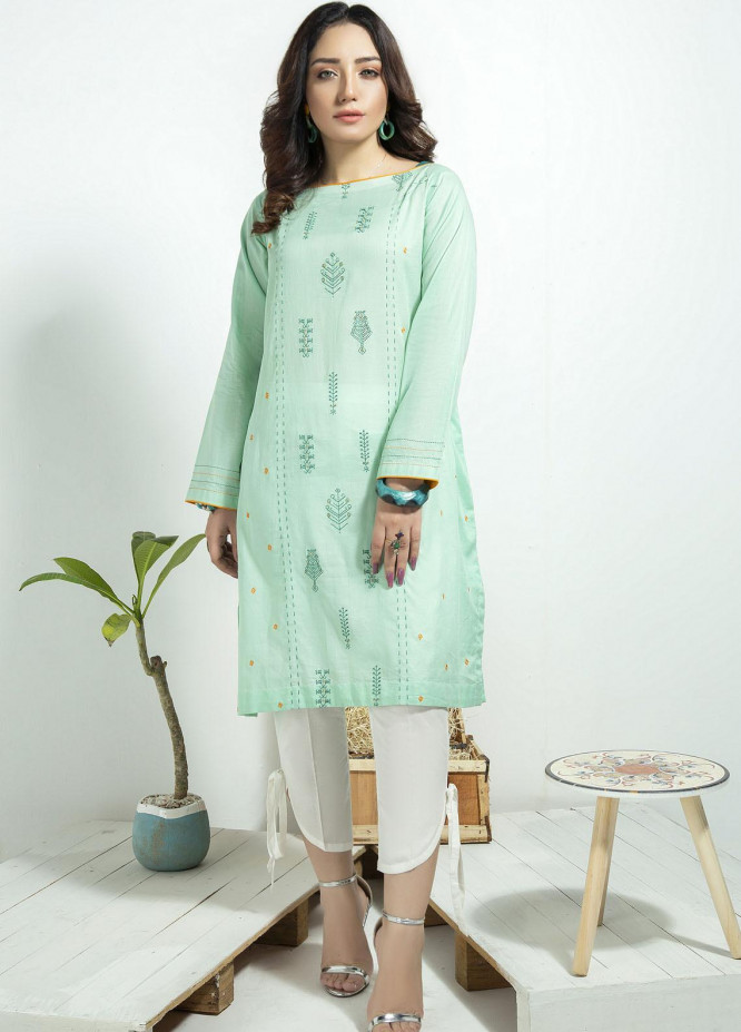 Lakhany Embroidered Cambric Stitched Kurtis LSM20CK LSM-1922