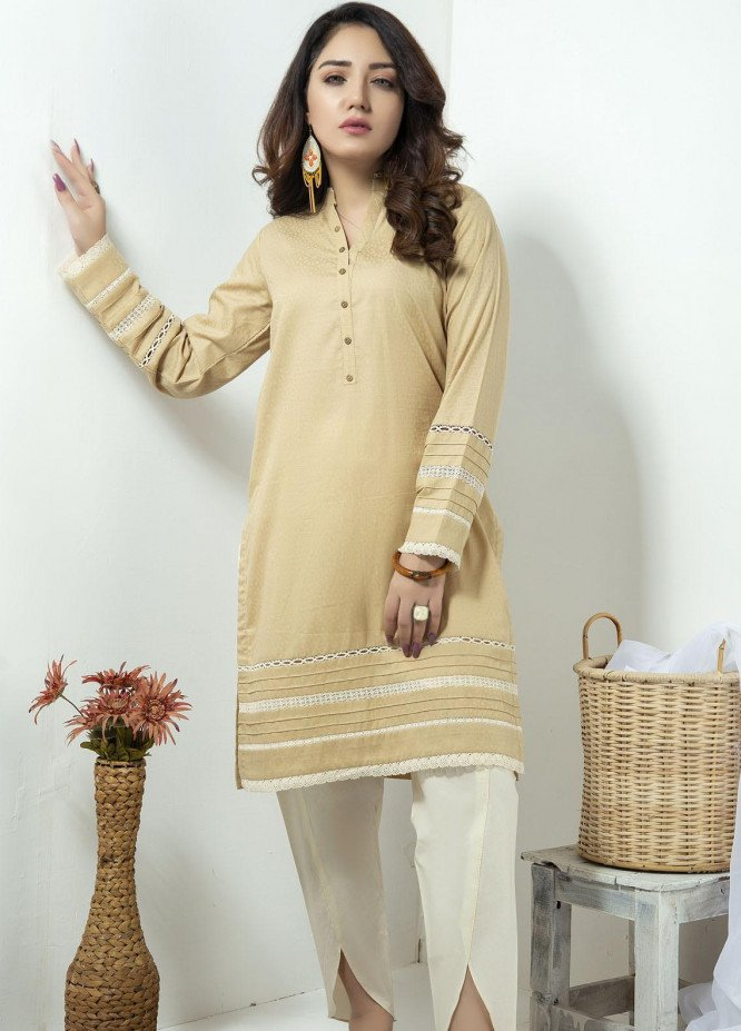Lakhany Embroidered Cambric Stitched Kurtis LSM20LK LSM-1883