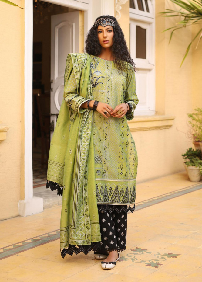 Shehnai By Lakhany Embroidered Woven Suits Unstitched 3 Piece LSM21SH 9819 - Festive Collection