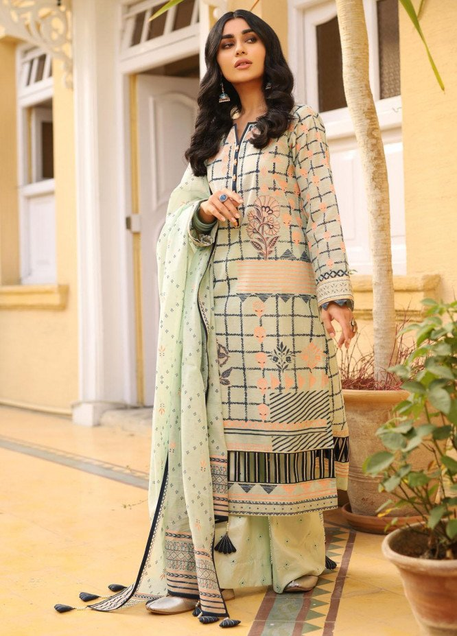 Shehnai By Lakhany Embroidered Woven Suits Unstitched 3 Piece LSM21SH 9821 - Festive Collection