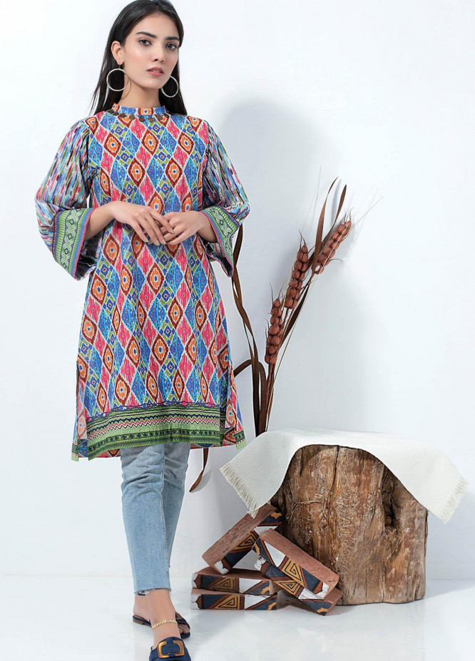 Lakhany Printed Lawn  Unstitched Kurties LSM21SP PK-2139 - Summer Collection