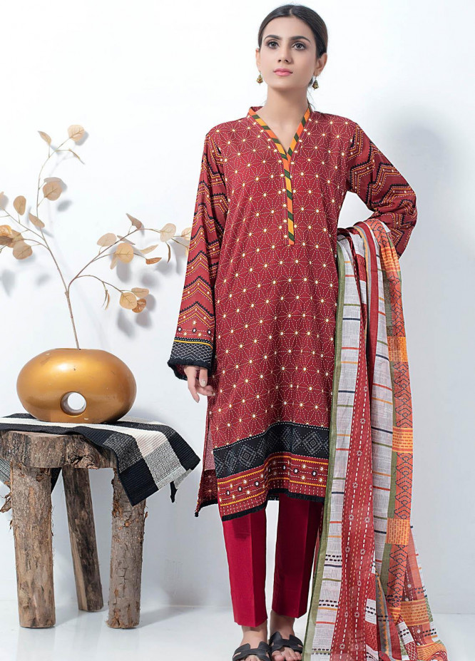 Lakhany Printed Lawn Suits Unstitched 3 Piece LSM21SP PL-2169 - Summer Collection