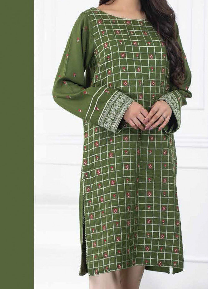 Lakhany Embroidered Viscose Unstitched Kurties LSM20WK 2091 - Winter Collection