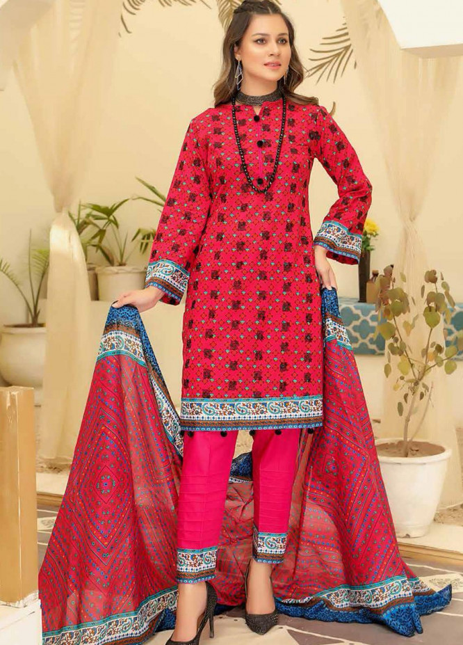 Mahee's by Riaz Arts Embroidered Lawn Suits Unstitched 3 Piece RA21-M13 ML-03 - Summer Collection