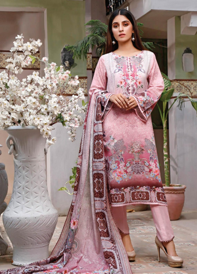 Malhar Printed Lawn Unstitched 3 Piece Suit ML20D 223-A - Spring / Summer Collection