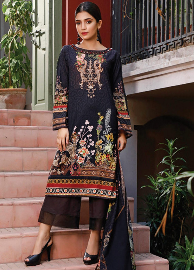 Malhar Printed Lawn Unstitched 3 Piece Suit ML20D 226-A - Spring / Summer Collection