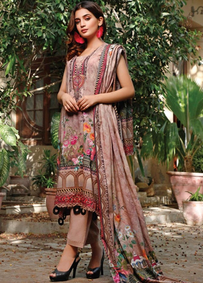 Malhar Printed Lawn Unstitched 3 Piece Suit ML20D 234-A - Spring / Summer Collection